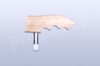Dřevěná masážní palička s magnetem