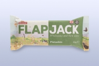 Flapjack ovesný pistácie 80 g   WHOLEBAKE