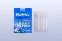 Akupunkturní jehly Huanqiu s trubičkou 0,20x25mm