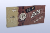 Čokoláda bílá 40%, 45 g