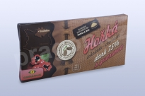 Čokoláda hořká 75% s guaranou, 45 g