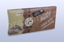 Čokoláda bílá 40% s CHIA semínky, 45 g