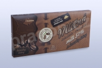 Čokoláda mléčná 51% s kávovými zrny, 45 g
