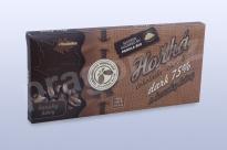 Čokoláda hořká 75% s kávovými zrny, 45 g