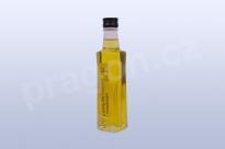 Lněný olej s olejem česnekovým organik oil Extra Virgin, 200 ml