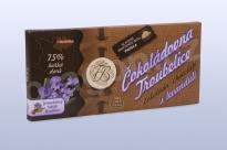 Čokoláda hořká 75% s levandulí 45 g