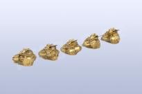 Třínohé žáby mini set