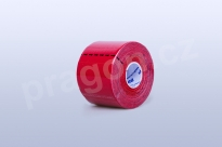Kineziologický tejp BB Tape 5 cm, barva červená