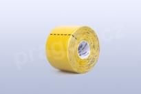 Kineziologický tejp BB Tape 5 cm, barva žlutá