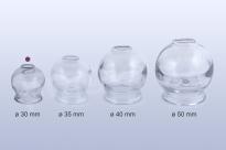 Baňka skleněná 30mm pro baňkování