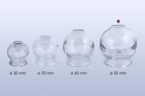 Baňka skleněná 50mm pro baňkování
