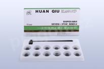 Akupunkturní jehly Huanqiu – švestkové kladívko, seven star
