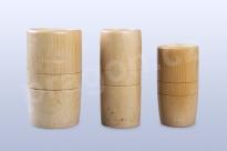 Baňky bambusové – sada 3 ks pro dekoraci