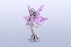 Anděl lásky - růžový