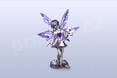 Anděl lásky - fialový