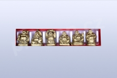 Mini Buddha set - 6ks