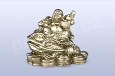 Buddha na třínohé žábě