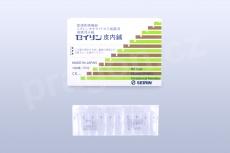 Akupunkturní jehly Seirin Spinex 02 / intradermální 0,12x4mm