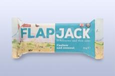 Flapjack ovesný kešu-kokos 80 g   WHOLEBAKE