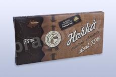 Čokoláda hořká 75%, 45 g