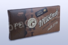 Čokoláda mléčná 51%, 45 g