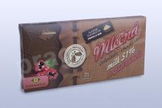 Čokoláda mléčná 51% s guaranou, 45 g