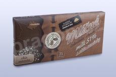 Čokoláda mléčná 51% s CHIA semínky, 45 g