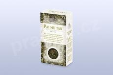 Pai Mu Tan b. č. 50 g krabička GREŠÍK, Čaje 4 světadílů