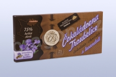 Čokoláda hořká 75% s levandulí 45 g_2