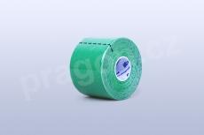 Kineziologický tejp BB Tape 5 cm, barva zelená
