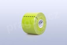 Kineziologický tejp BB Tape 5 cm, barva zelená limetková
