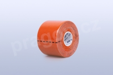 Kineziologický tejp BB Tape 5 cm, barva oranžová