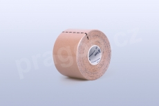 Kineziologický tejp BB Tape 5 cm, barva béžová