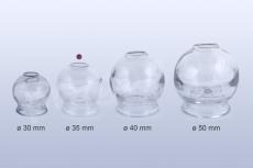 Baňka skleněná 35mm pro baňkování