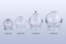 Baňka skleněná 40mm pro baňkování