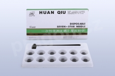 Akupunkturní jehly Huanqiu - švestkové kladívko, seven star